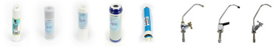 AquaRichUSA Reverse Osmosis Accessories - Filters and Faucets